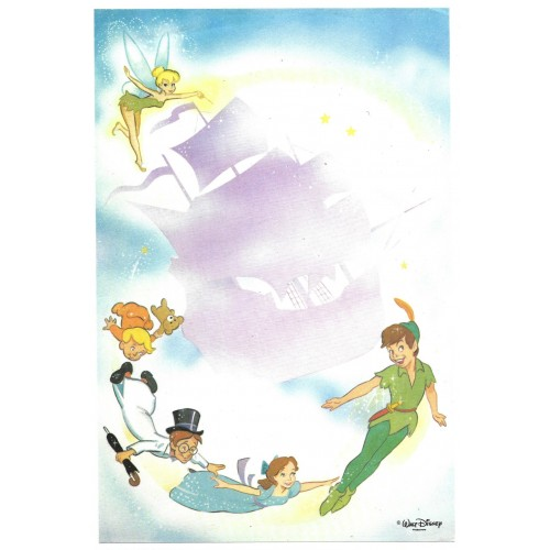 Papel de Carta Avulso Antigo Peter Pan