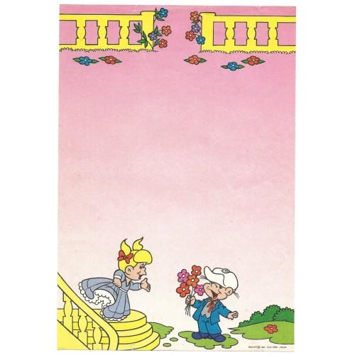Ano 1987. Papel de Carta Antigo BISCOITO 6 CLIC COM