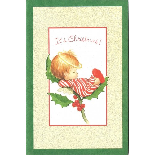 Notecard Antigo Importado Christmas 1 Ruth Morehead A.G.