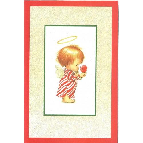 Notecard Antigo Importado Christmas 3 Ruth Morehead A.G.