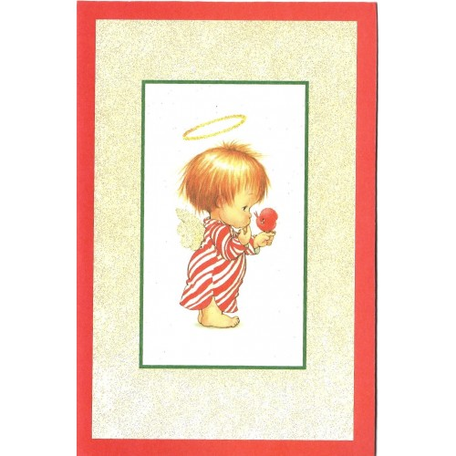 Notecard Antigo Importado Christmas 3 Ruth Morehead A.G.