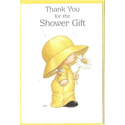 Notelette Antigo Importado Shower Gift Ruth Morehead Sangamon