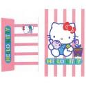 Conjunto de Papel de Carta Antigo Hello Kitty Tea