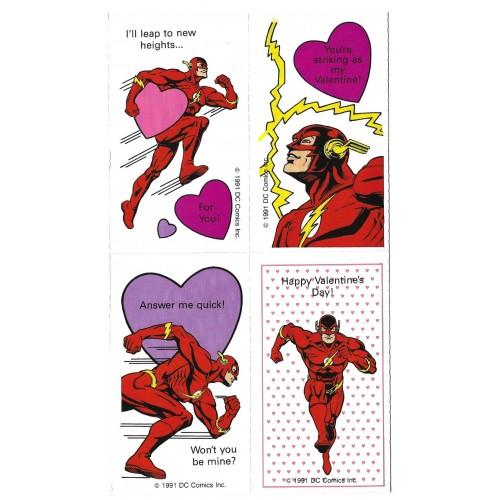 Kit 13 Mini-Cartões de Mensagem Valentines Antigo Importado The Flash