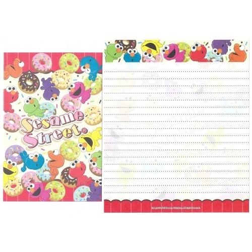 Ano 2012. Kit 4 Conjuntos de Papel de Carta Sesame Street