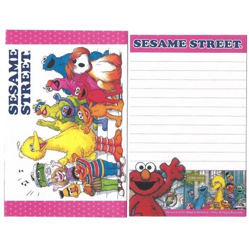 Ano 2008. Conjunto de Papel de Carta Pequeno Sesame Street CVM