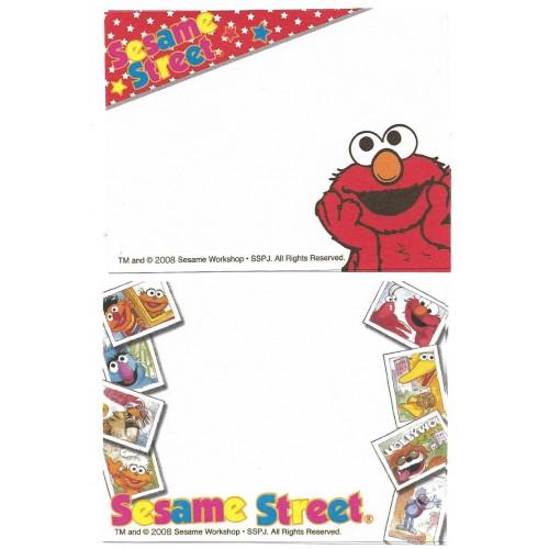 Ano 2008. Kit 2 MEMOS Sesame Street CVM