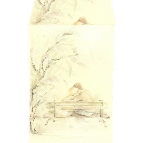Conjunto de Papel de Carta Antigo AMBROSIANA CURTICÃO - 14