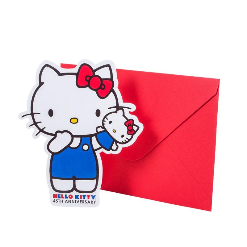 Ano 2019. Notecard com Envelope HK 45th Anniversary
