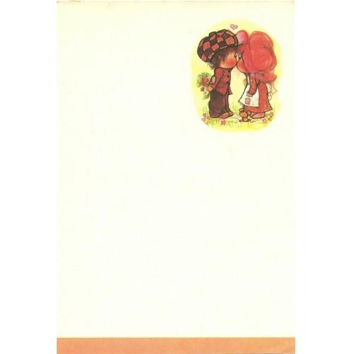 Papel de Carta Antigo Annie10