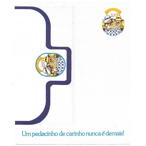 Conjunto de Papel de Carta Coleção Os Intocáveis Bandidinho CAZ