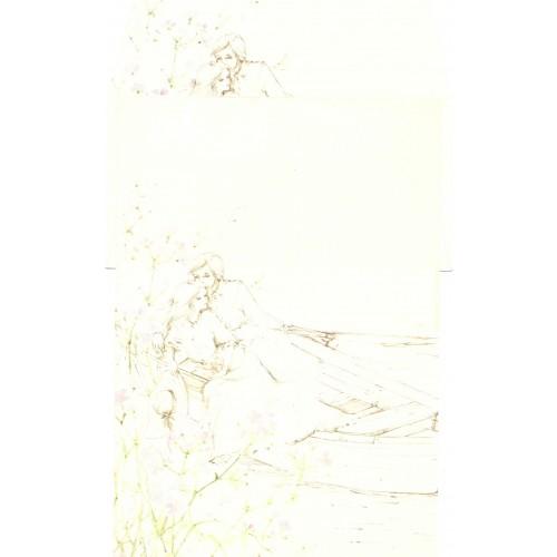 Conjunto de Papel de Carta Antigo AMBROSIANA CURTIÇÃO - 18