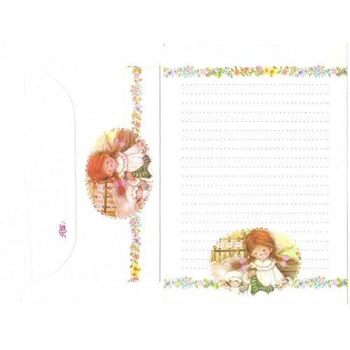 Conjunto de Papel de Carta ANTIGO Lisi Martin 3
