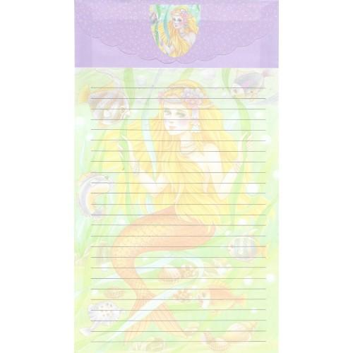Capa & Conjunto de Papel de Carta Antigo Importado LP18005 A YANG