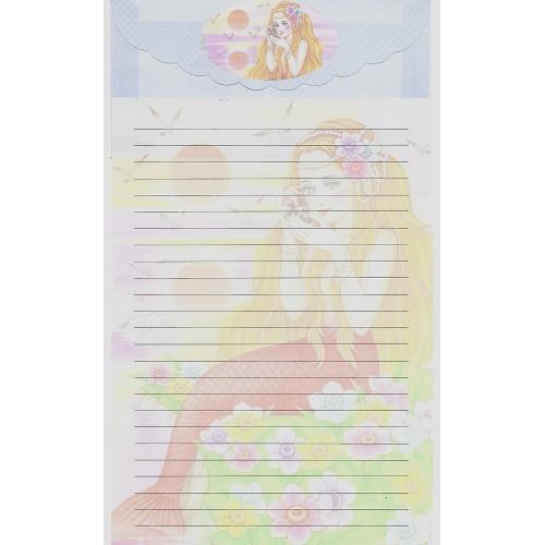 Capa & Conjunto de Papel de Carta Antigo Importado LP18005 C YANG