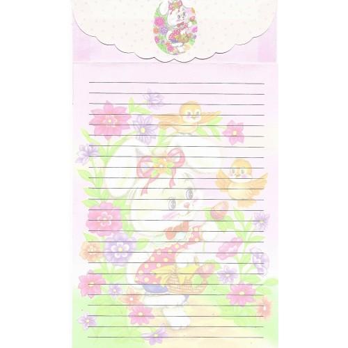 Capa & Conjunto de Papel de Carta Antigo Importado LP18003 B YANG