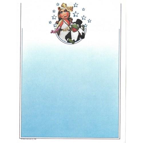 Ano 1980. Papel de Carta Antigo Importado Os Muppets CAZ