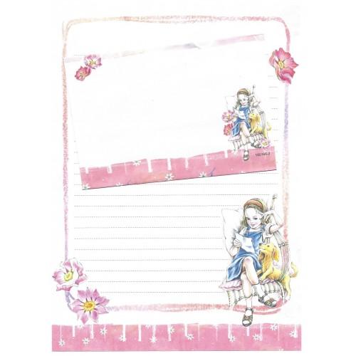 CAPA & Conjunto de Papel de Carta Shinn Jee Menininha PB180166-2