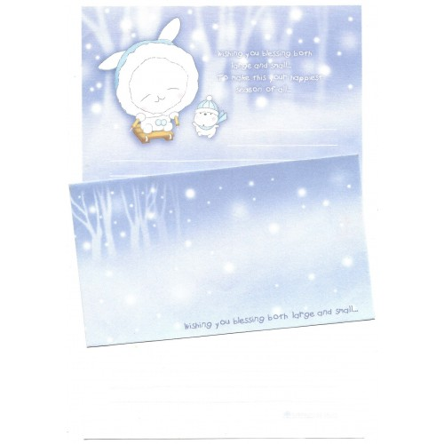 Conjunto de Papel de Carta Importado Wishing You - NL