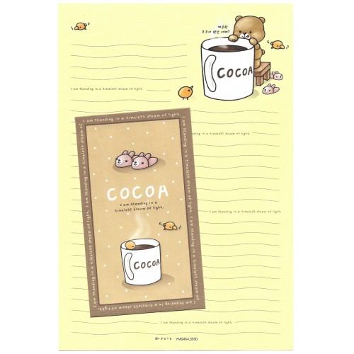 Conjunto de Papel de Carta Importado COCOA - YM