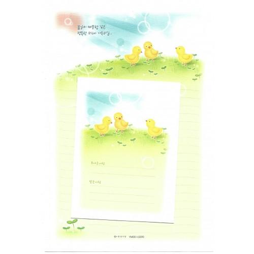 Conjunto de Papel de Carta Importado Chicks - YM