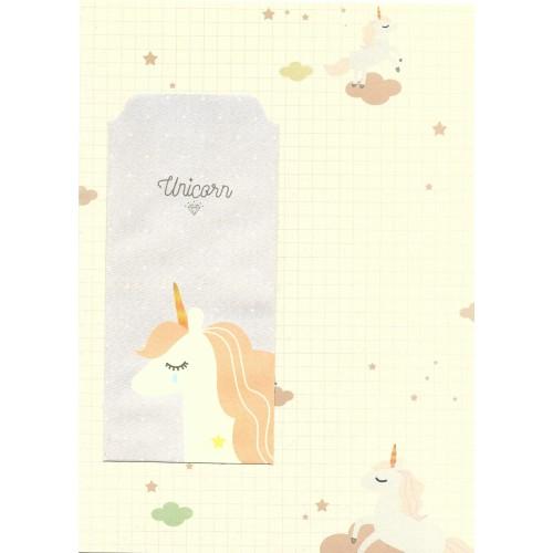 Conjunto de Papel de Carta Importado Unicorn 3