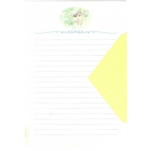 Ano 1989. Conjunto de Papel de Carta Keibun Ohta CAM Märhen Collection Sanrio