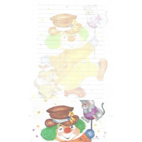 Conjunto de Papel de Carta Antigo Importado DASEN 3024B