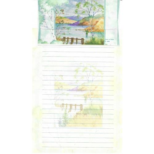 Capa & Conjunto de Papel de Carta Antigo Importado DASEN 1791A