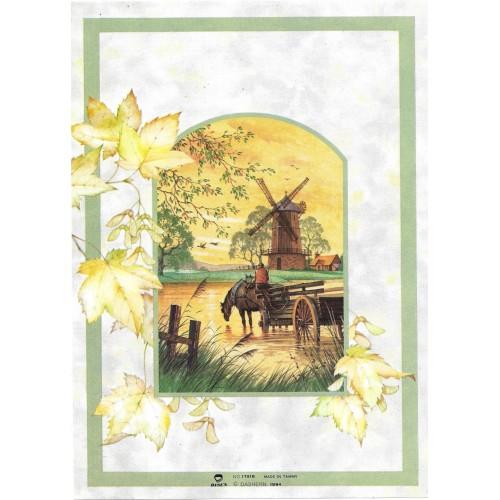 Capa & Conjunto de Papel de Carta Antigo Importado DASEN 1791B