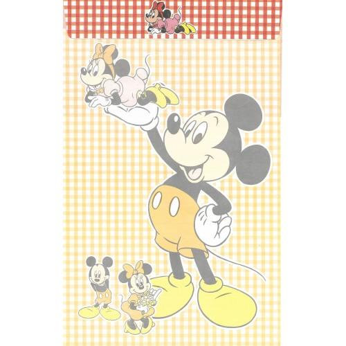 Conjunto de Papel de Carta ANTIGO Mickey Mouse CVM Clarinho