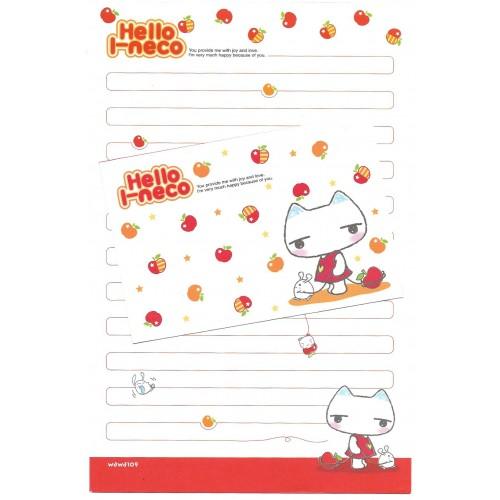 Conjunto de Papel de Carta Importado Hello I-neco 3