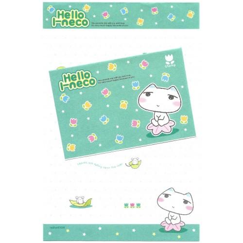 Conjunto de Papel de Carta Importado Hello I-neco 4