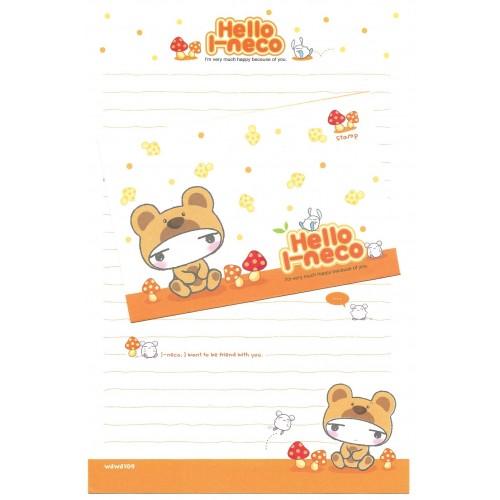 Conjunto de Papel de Carta Importado Hello I-neco 5