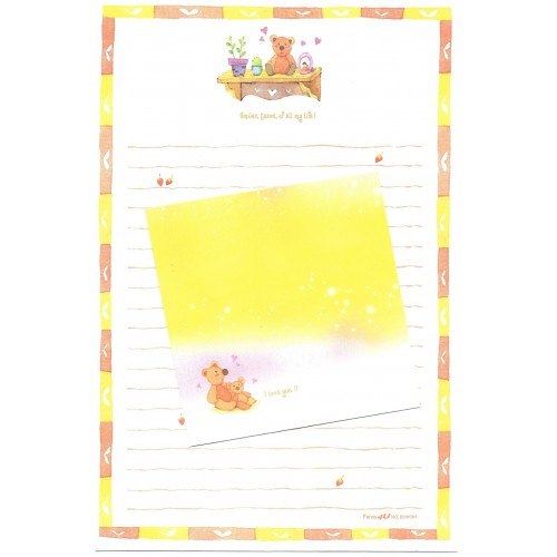 Conjunto de Papel de Carta Importado Fancy 4 You