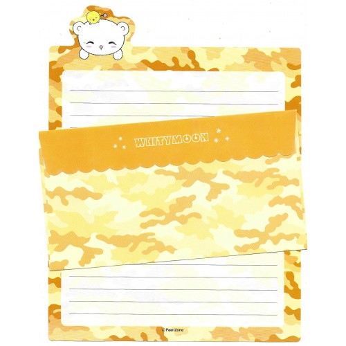 Conjunto de Papel de Carta Importado Whitymoon Feel Zone