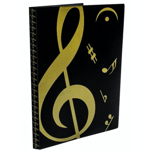 Pasta Catálogo 20 Plásticos Music CDO