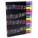 Pasta Catálogo 20 Plásticos Music COR