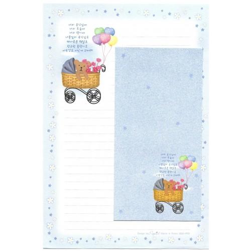 Conjunto de Papel de Carta Importado Bear Troll - Papier