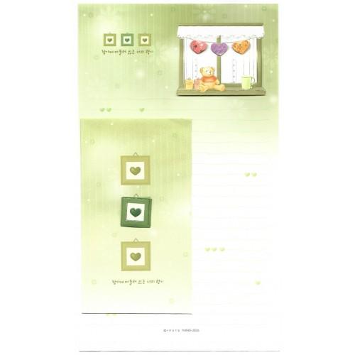 Conjunto de Papel de Carta Importado Bear CVD - YM