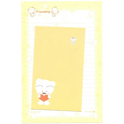 Conjunto de Papel de Carta Importado BABU Friendship Morning Glory