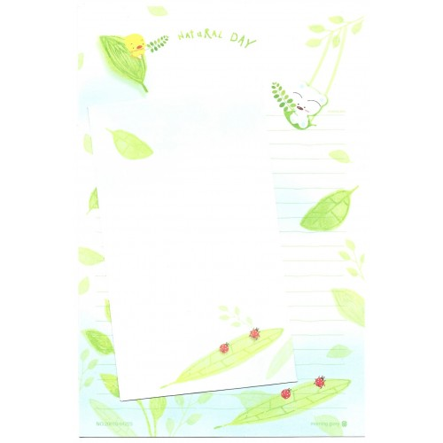 Conjunto de Papel Carta Importado BABU Natural Day Morning Glory
