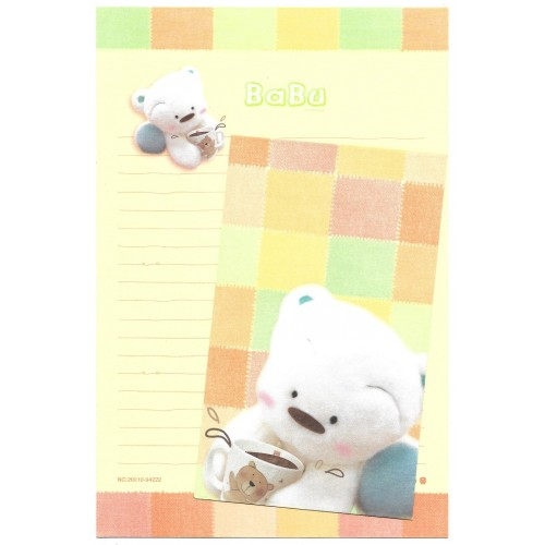 Conjunto de Papel Carta Importado BABU Coffee Morning Glory