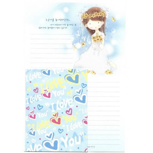 Conjunto de Papel de Carta Importado BRIDE Papier