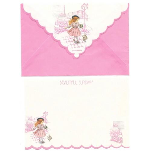 Conjunto de Papel de Carta Beautiful Sunday 07 P CRS