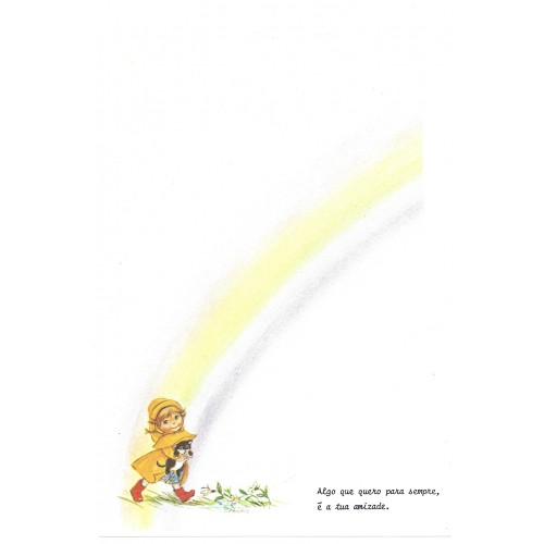 Papel de Carta Antigo Little Rainbows 4