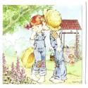 Ano 2009. Notecard Cartão Antigo Sarah Kay 2