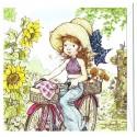Ano 2009. Notecard Cartão Antigo Sarah Kay 3