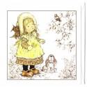 Ano 2009. Notecard Cartão Antigo Sarah Kay 4
