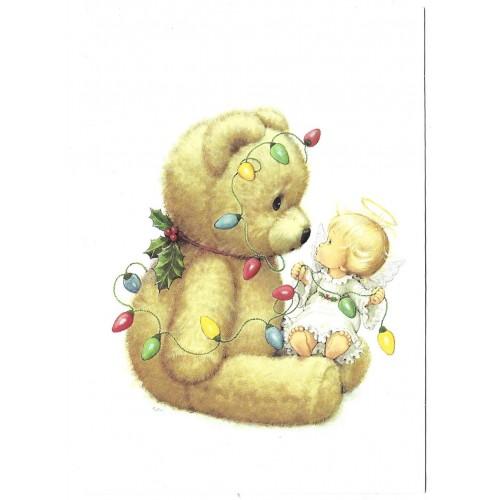 Ano 1996. Notelette Antigo Importado Ruth Morehead HBA